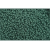 Seedbead Opaque Dark Green 10/0